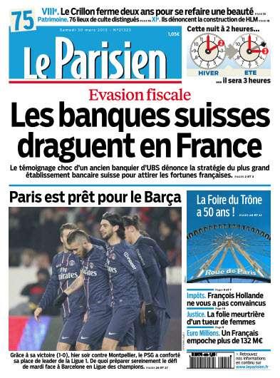 Le Parisien Samedi 30 Mars 2013