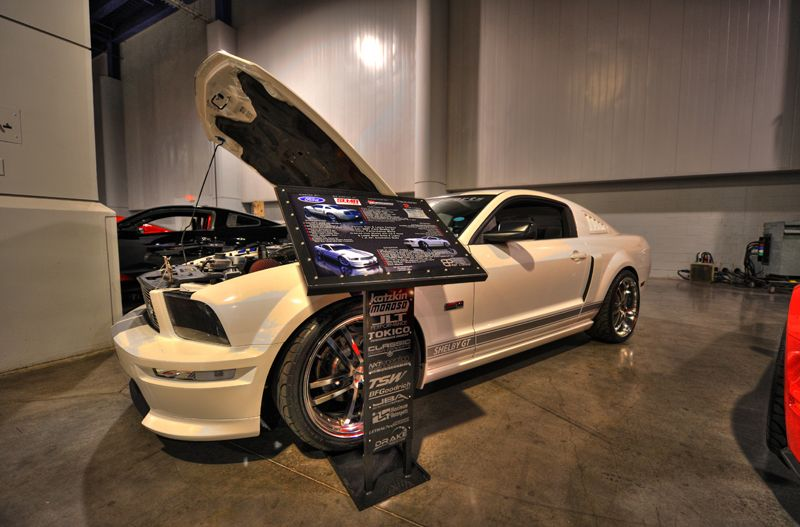Sickest Mustang Suspension Periodand Steel Braided Hoses Page - Portable car show display stand