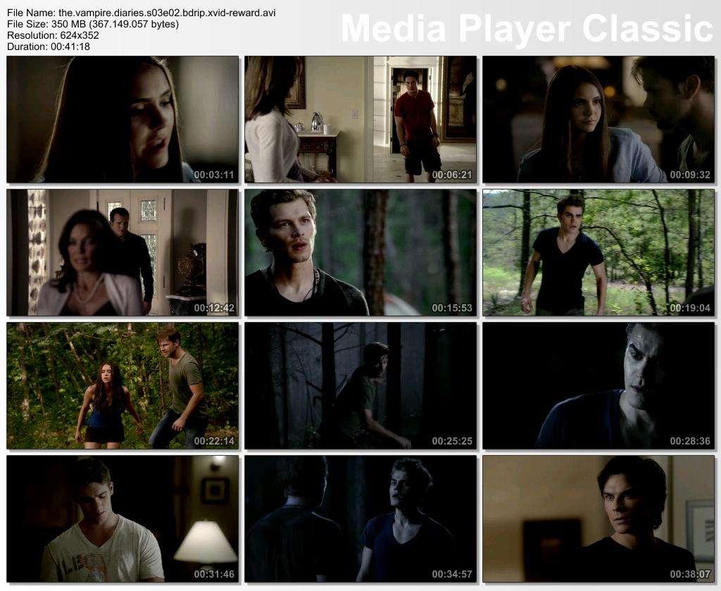 The Vampire Diaries 3. Sezon T�m B�l�mler BDRip XviD T�rk�e Altyaz�l� Tek Link indir