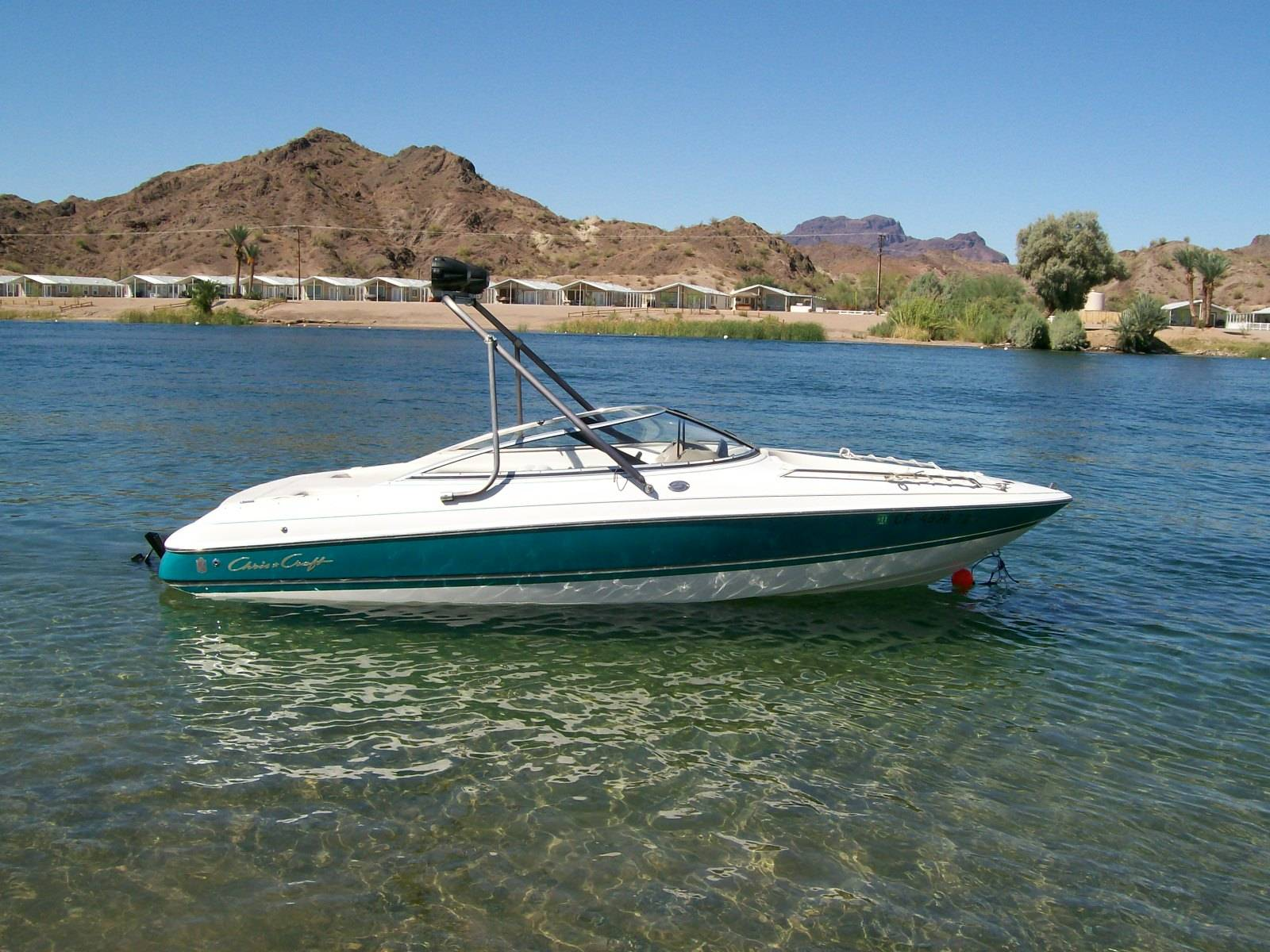 heres a couple pics from the weekend at parker az      got the boat and  matching trailer with 310hrs for 3900 00 it was only used at big bear lake  and