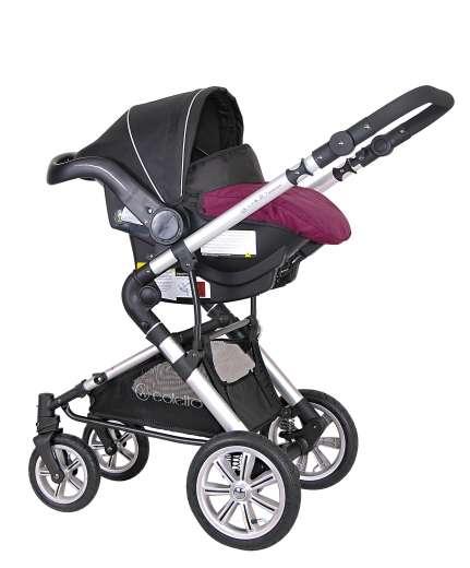 kombi kinderwagen spazierwagen babyschale giovani 4 in1. Black Bedroom Furniture Sets. Home Design Ideas